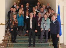 N-VA Berchem bezoekt federaal parlement