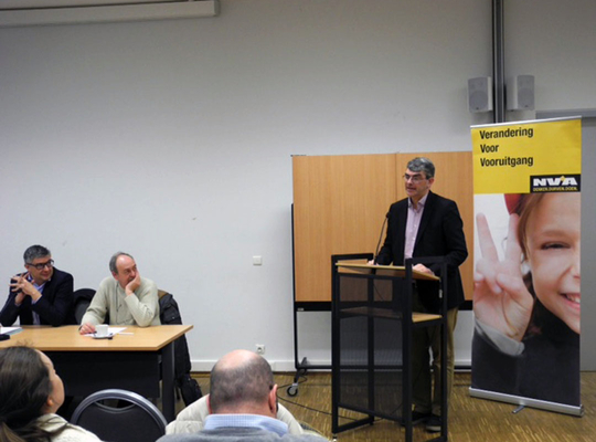 Johan Klaps nieuwe voorzitter N-VA Berchem